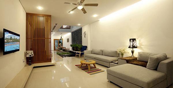 Mẫu nội thất phòng khách nhà ống 5m