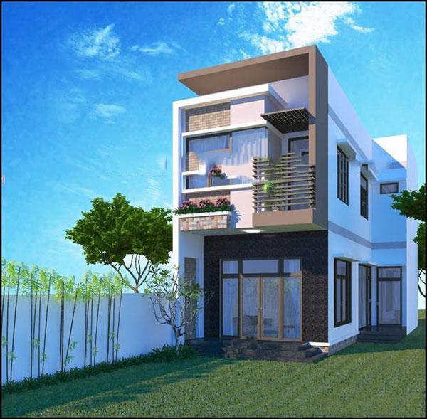 Mẫu thiết kế nhà phố 6x17m 2 tầng tại Tiền Giang