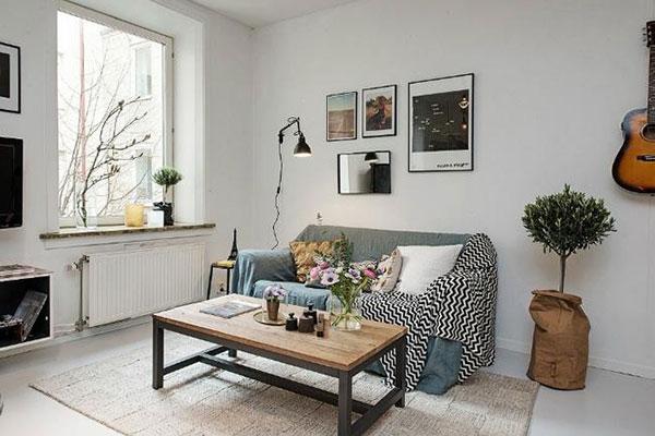 Phong cách thiết kế nội thất đương đại cho nhà chung cư