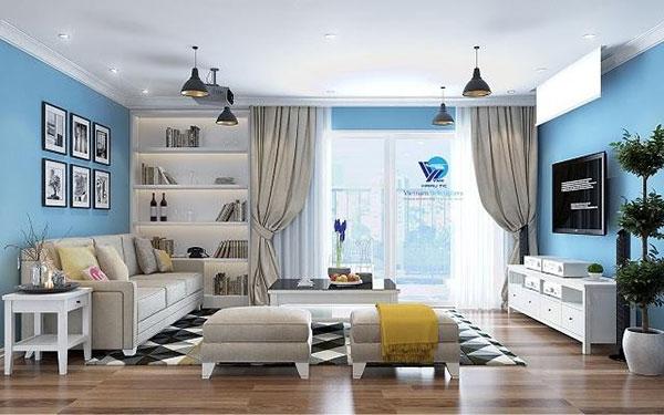 Phong cách thiết kế nội thất hiện đại cho nhà chung cư