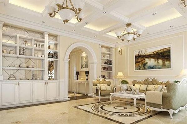 Tân cổ điển là một trong các phong cách thiết kế nội thất nhà chung cư