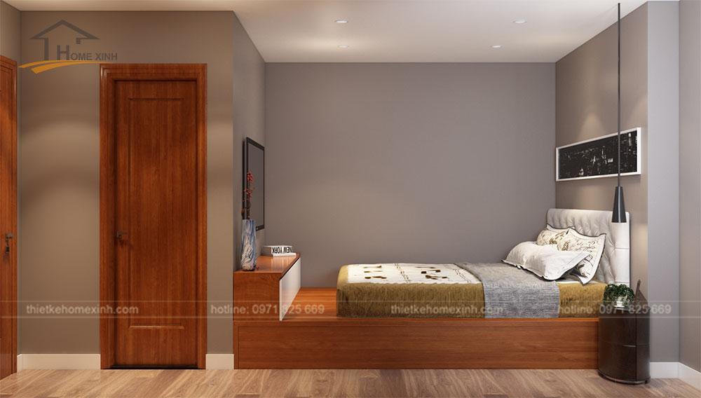 Phòng ngủ master đầy đủ tiện nghi