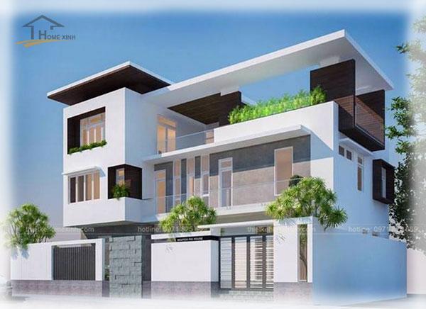 HomeXinh - Mẫu thiết kế biệt thự phố 14