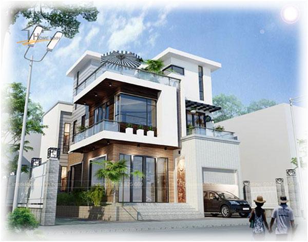 HomeXinh - Mẫu thiết kế biệt thự phố 15