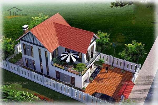 HomeXinh - Mẫu thiết kế biệt thự phố 16