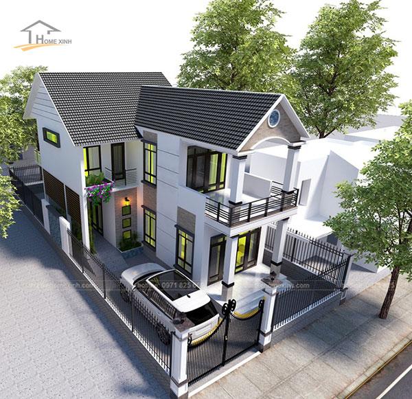 Thiết kế nhà phố 7x12m