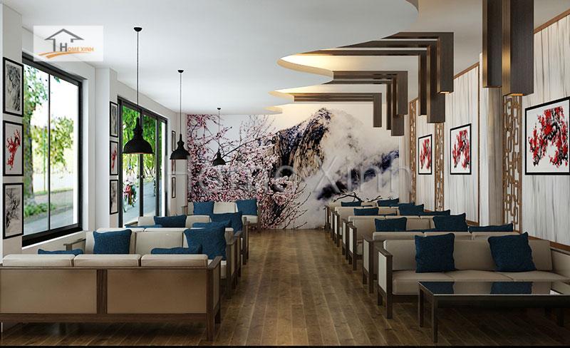 Thiết kế nội thất nhà hàng đẹp tại Lạng Sơn - ảnh 1