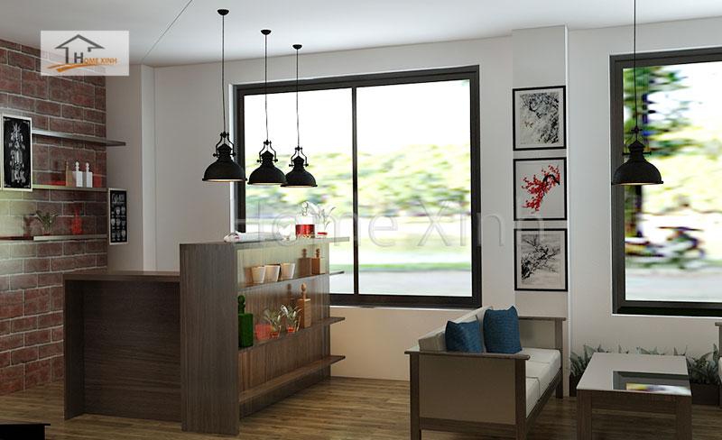 Thiết kế nội thất nhà hàng tại Lạng Sơn - ảnh 2