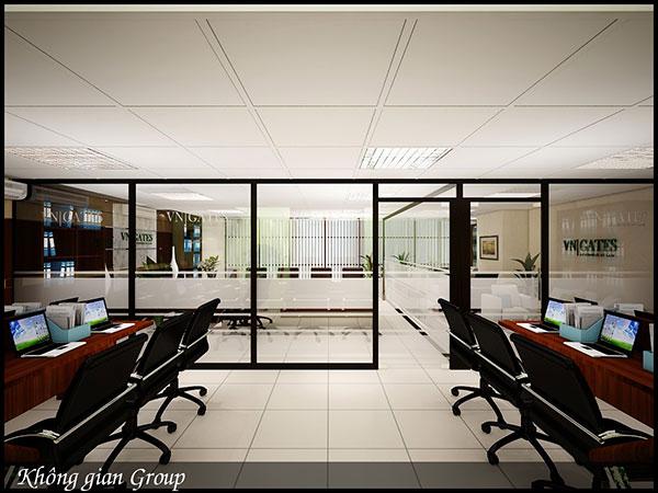 Không gian phòng làm việc bắt mắt, hiện đại