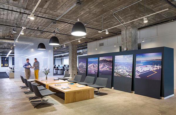 Thiết kế nội thất văn phòng sang chảnh