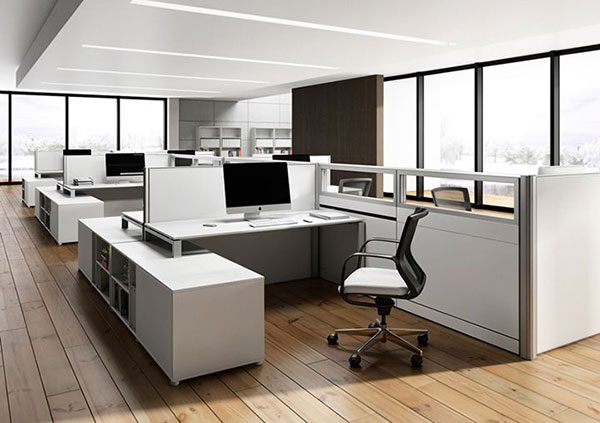 Thiết kế văn phòng sang trọng tận dụng từng góc nhỏ