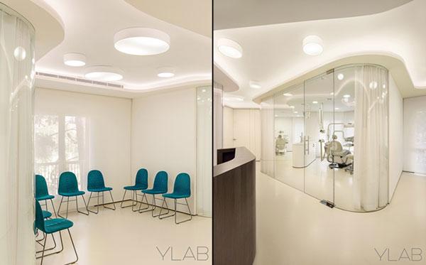 Màu trắng chủ đạo trong thiết kế văn phòng
