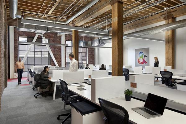 Thiết kế văn phòng đẹp, đơn giản trong từng chi tiết