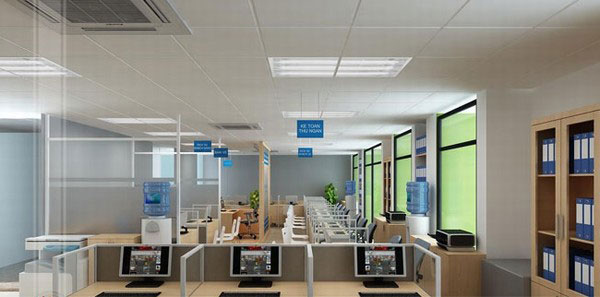 Thiết kế không gian văn phòng hiện đại, mới mẻ