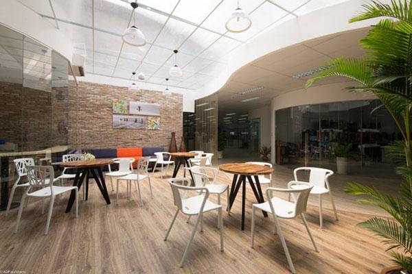 Thiết kế nội thất văn phòng đơn giản nhưng đầy thẩm mỹ