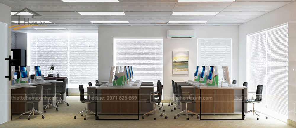 Thiết kế văn phòng công ty softviet