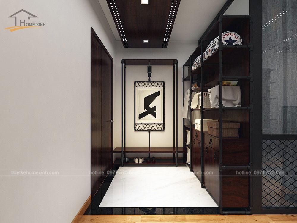 Khu vực sảnh vào được thiết kế hiện đại