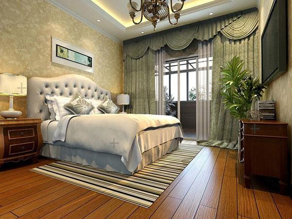 Nội thất phòng ngủ tân cổ điển cũng đơn giản nhưng lại tinh tế
