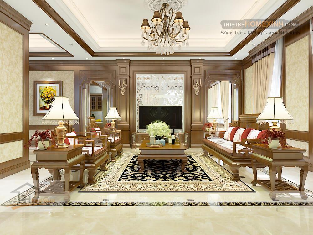 Thiết kế nội thất phong cách Christopher Guy (CG)