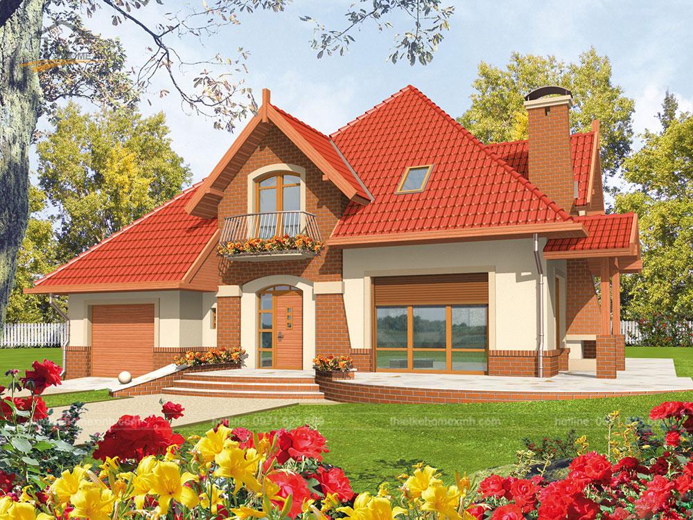 Mẫu thiết kế kiến trúc nhà vườn đẹp lung linh như truyện cổ tích