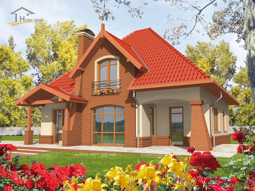 Kiến trúc nhà vườn thú vị