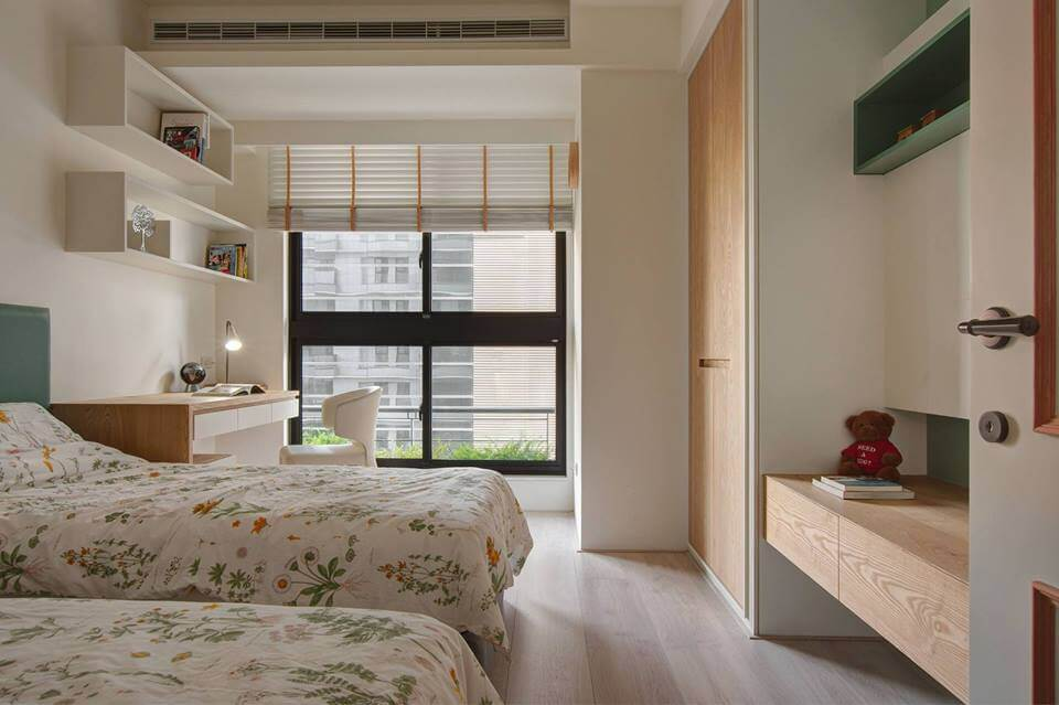 Modern children\'s bedroom furniture makes kids love ...
