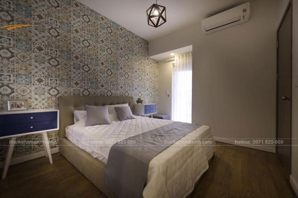 thi công nội thất căn hộ 80m2 tại vicoland hải châu - phòng khách 9