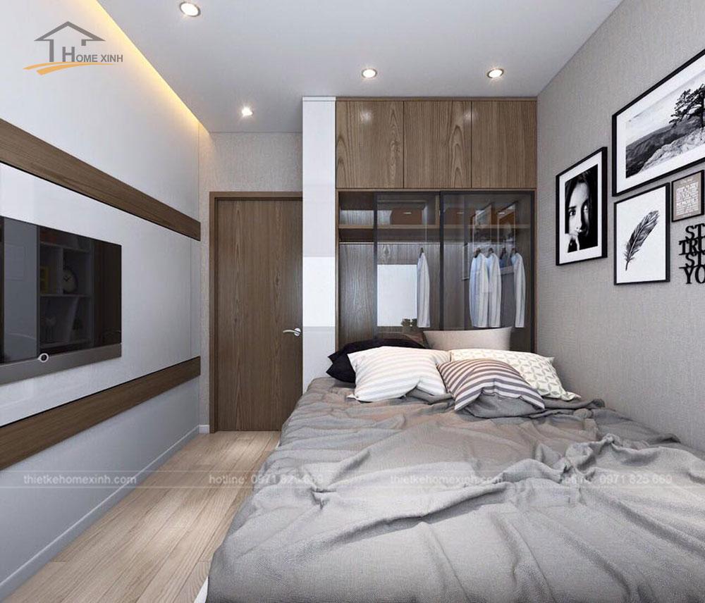 Mẫu thiết kế nội thất phòng ngủ con đơn giản