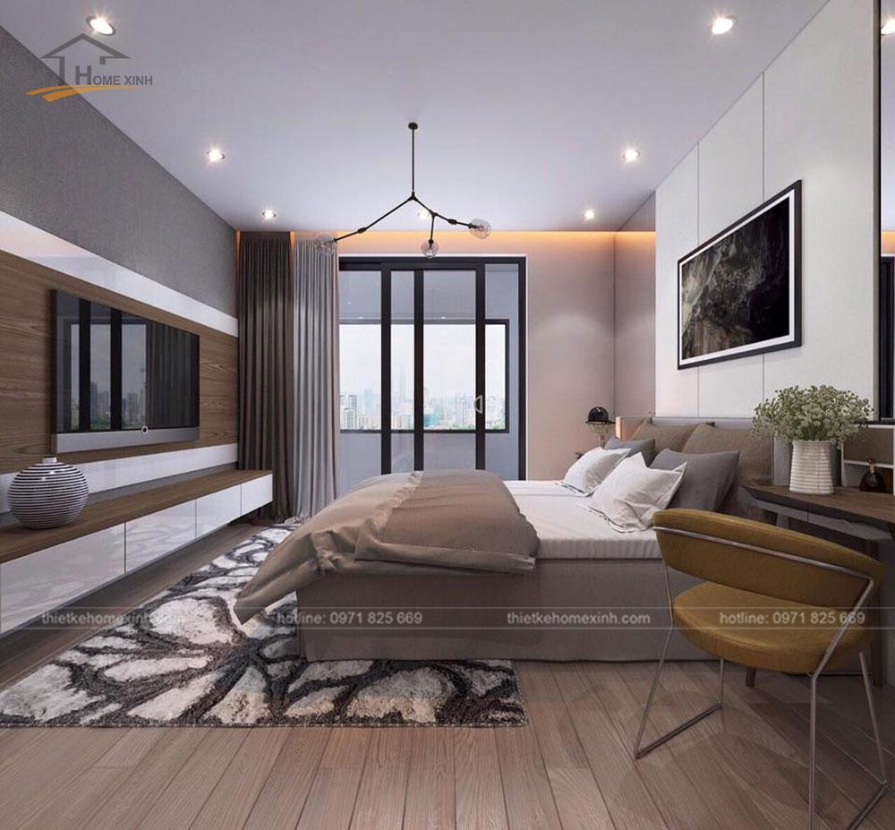Phòng ngủ master tận dụng được ánh sáng tự nhiên