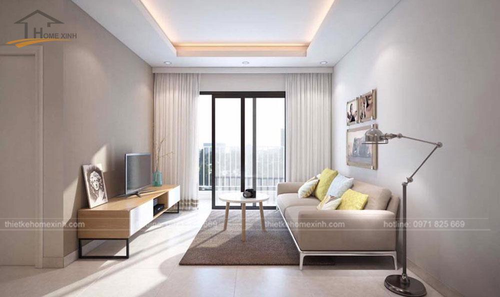 thiết kế nội thất chung cư N04A ngoại giao đoàn 2