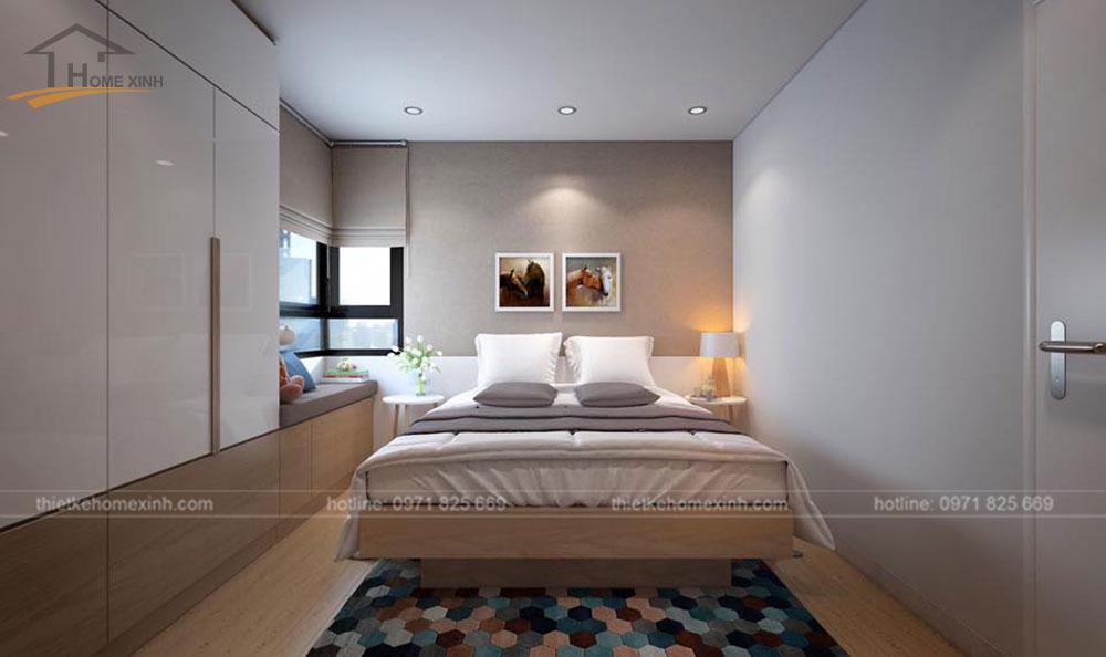 thiết kế nội thất chung cư N04A ngoại giao đoàn 6