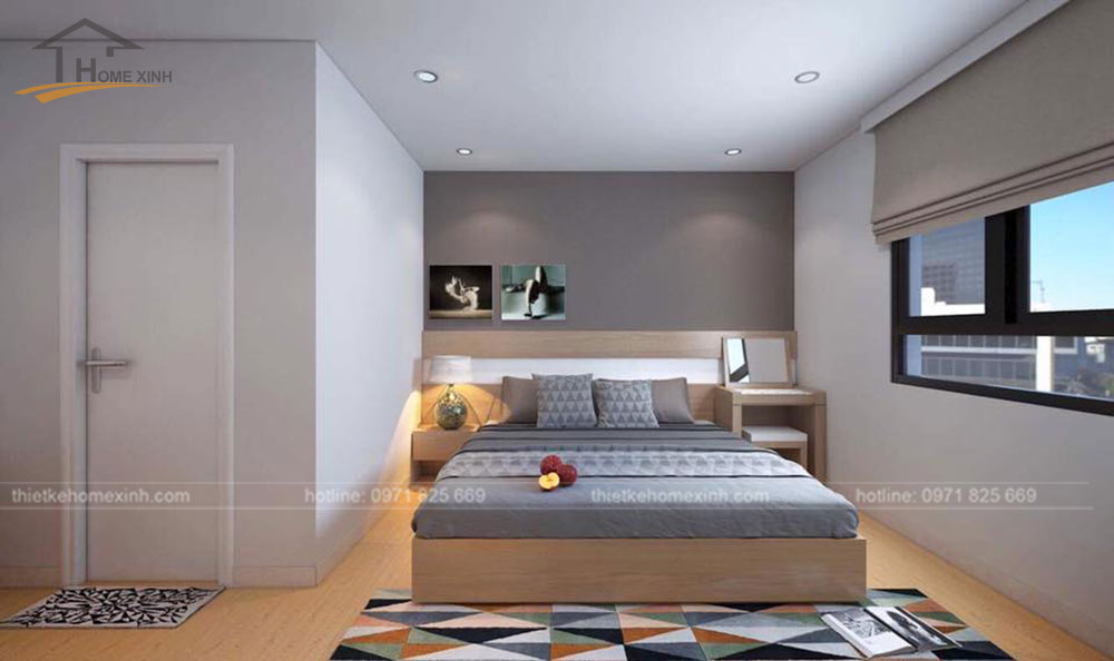 thiết kế nội thất chung cư N04A ngoại giao đoàn 7