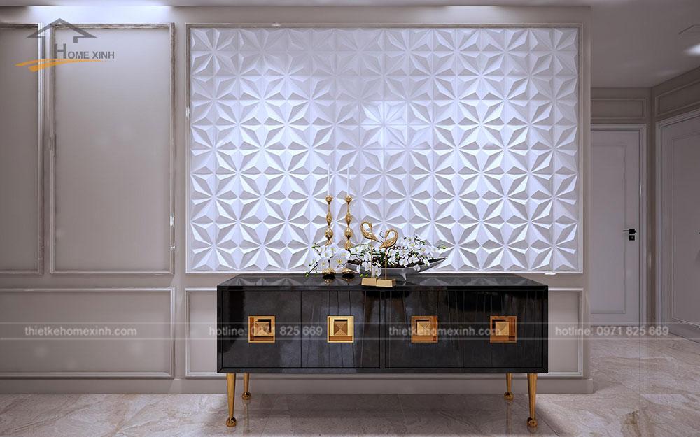 Thiết kế nội thất chung cư tại Vinhomes Golden River - tủ trang trí