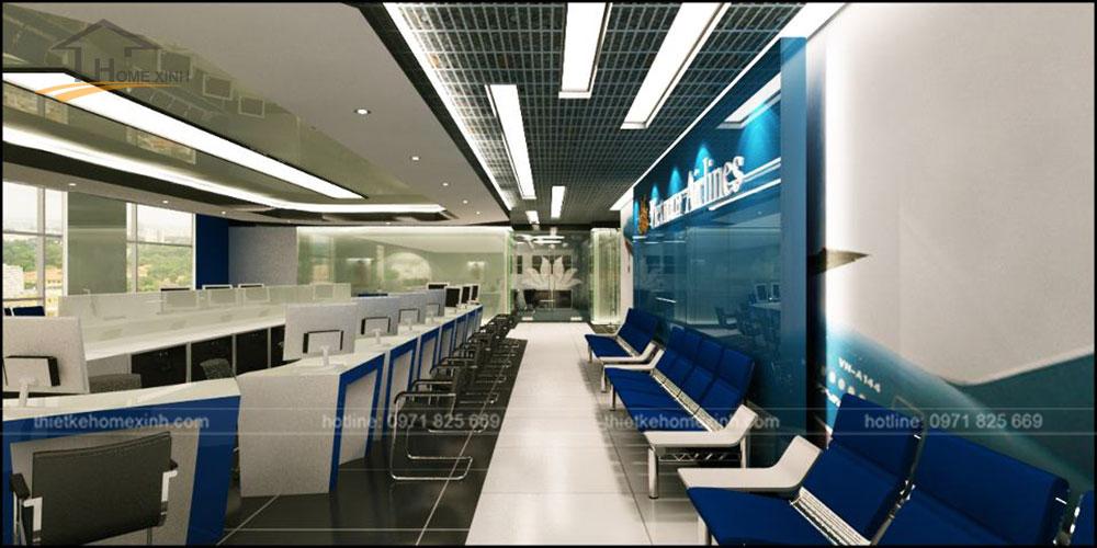 Thiết kế phòng vé việt nam airline 1