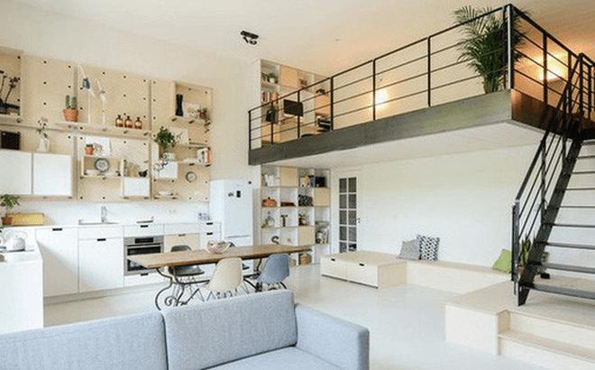 thiết kế nội thất chung cư nhỏ 40m2