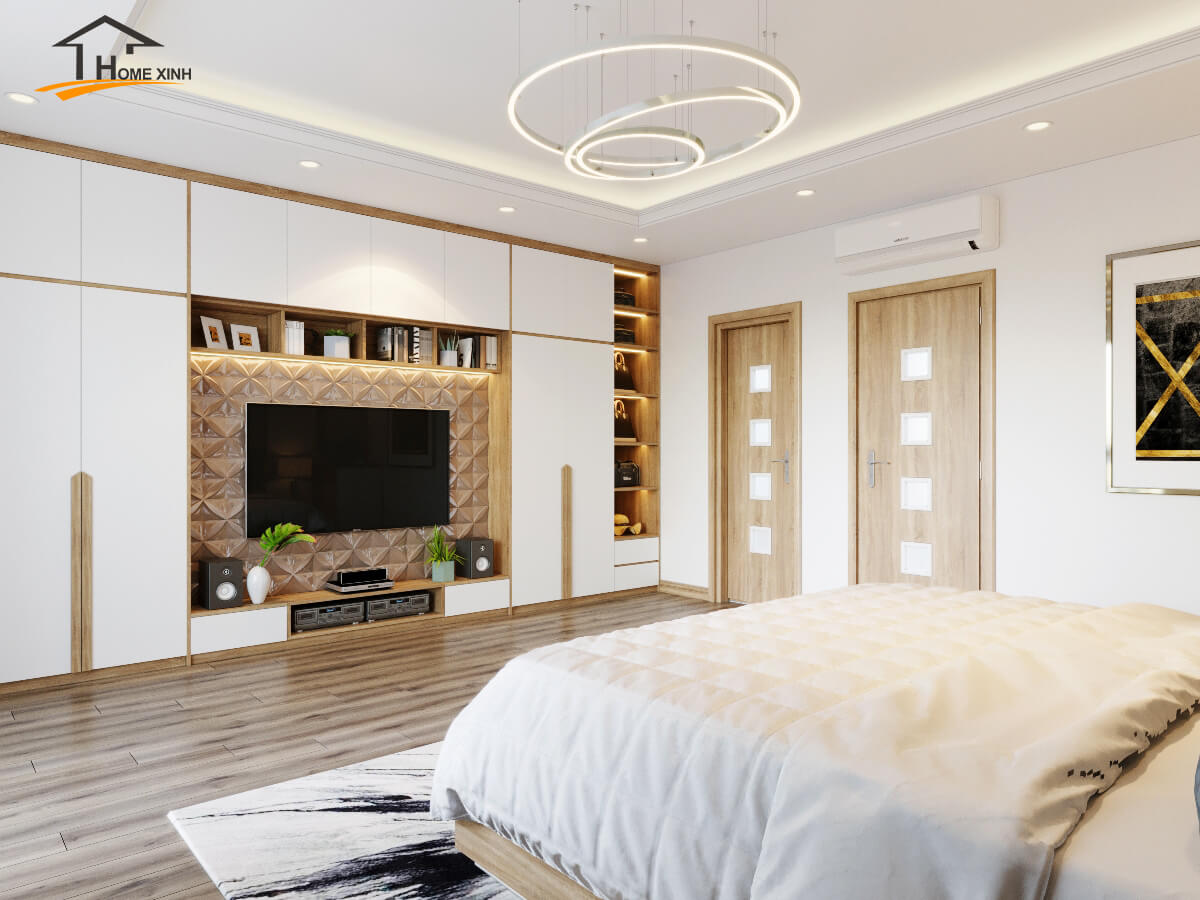 Thiết kế nội thất nhà liền kề