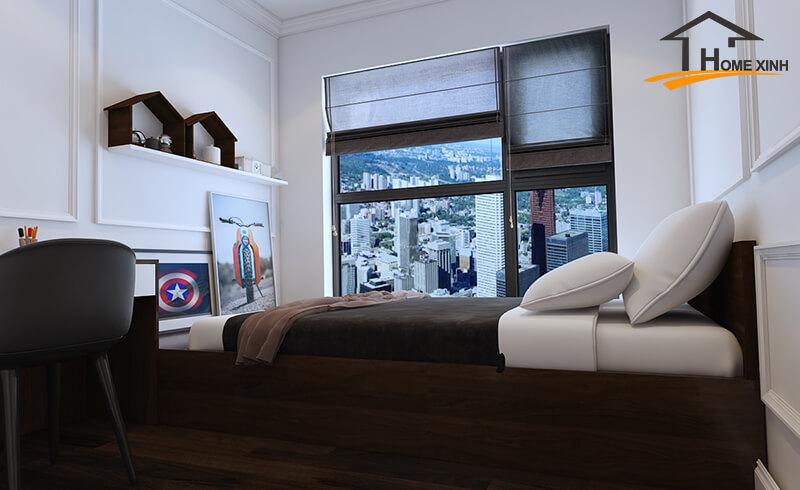 Thiết kế nội thất chung cư Greenbay 150m2 – Anh Công