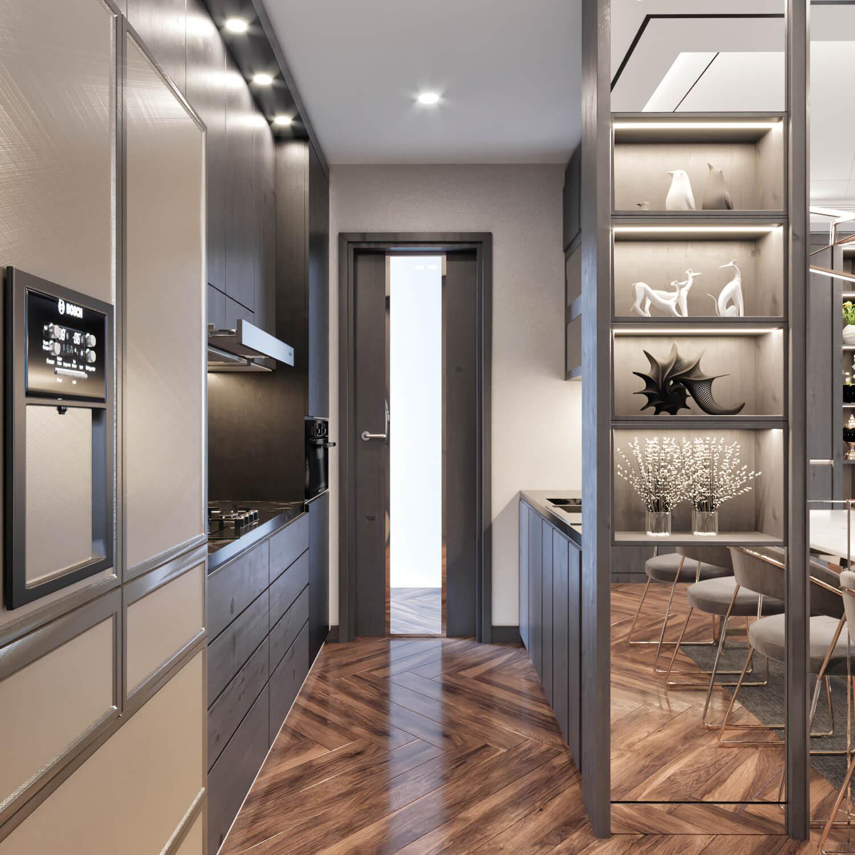 phòng ăn nhà bếp