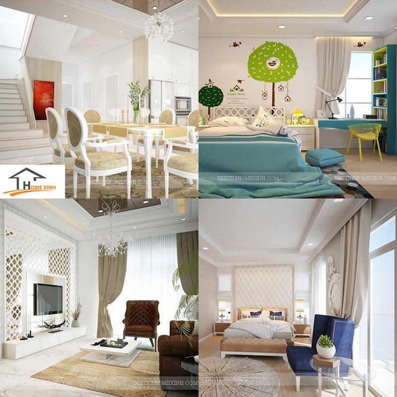 8. Mẫu thiết kế nội thất biệt thự KDT PG An Đồng