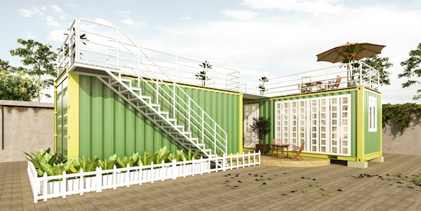 thiết kế nhà container