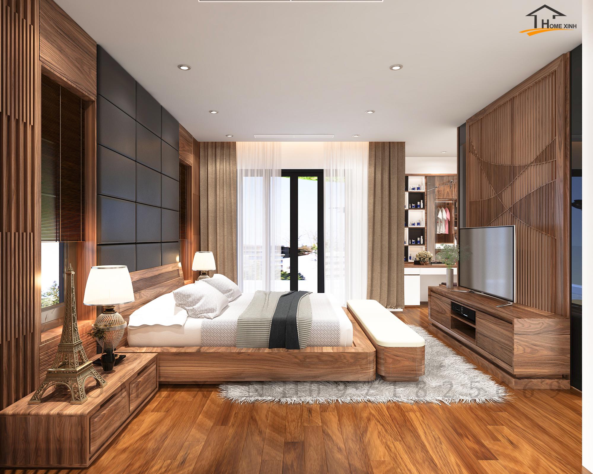 Thiết kế nội thất biệt thự Hà Tĩnh