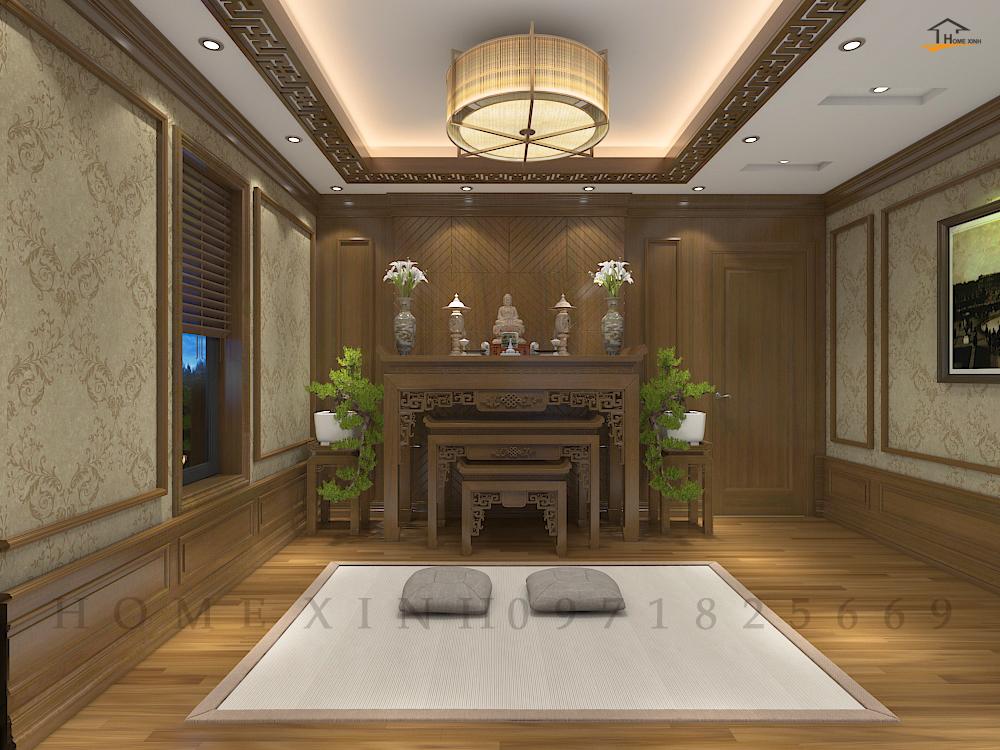 Thiết kế nội thất phòng thời Hà Tĩnh