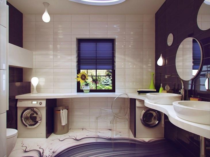 thiết kế phòng giặt đồ