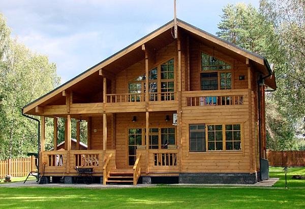 thiết kế nhà bằng gỗ