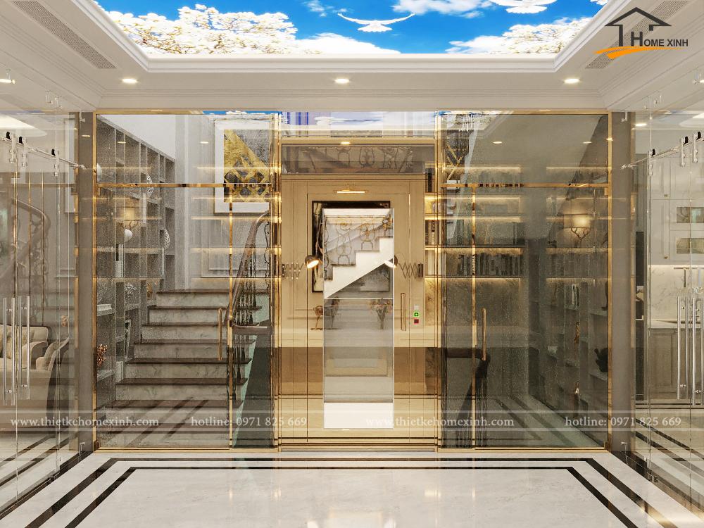 thiết kế nội thất shophouse Đại Mỗ