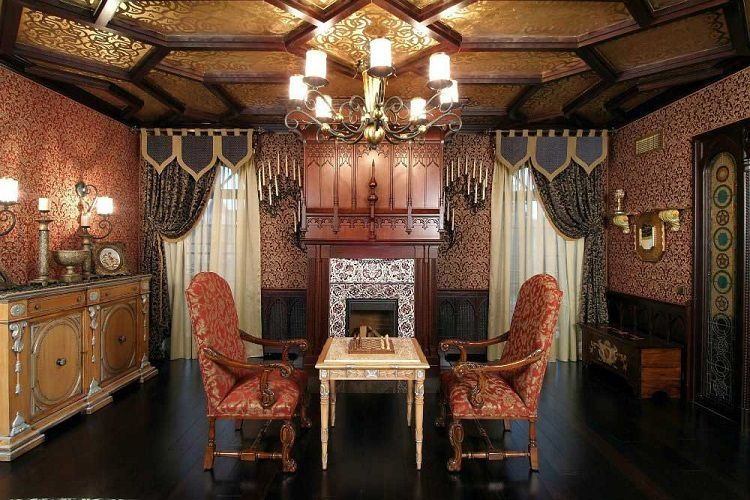 Thiết kế nội thất phong cách Gothic huyền bí