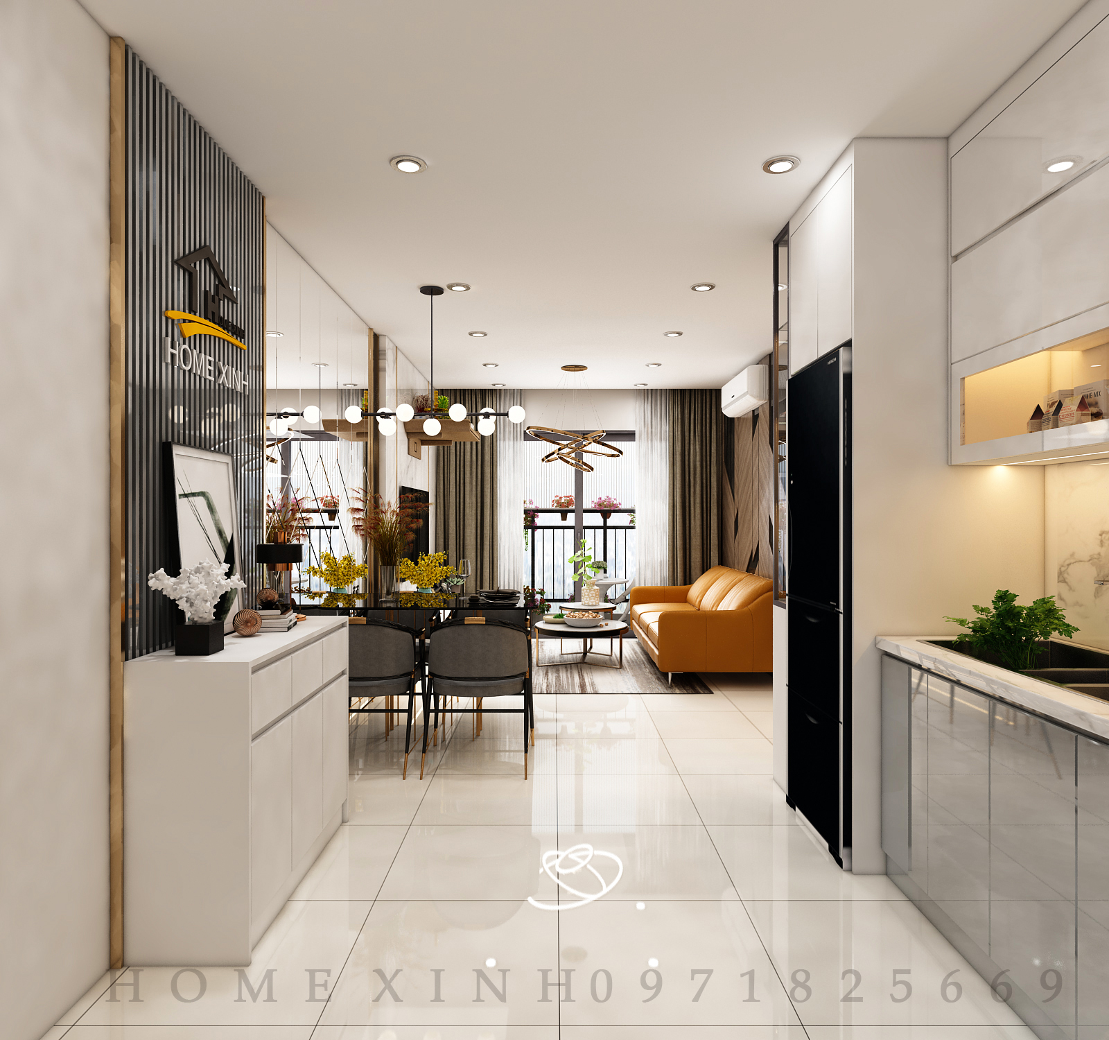 thiết kế nội thất chung cư 9